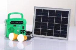 10W FM 라디오 음악 태양 에너지 홈 LED 조명 휴대용 UPS DC 전원 공급 시스템
