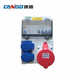1800Type 휴대용 산업용 플라스틱 전력 결합 전기 소켓 배전반