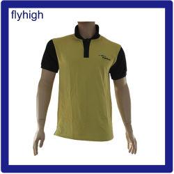 Bordados personalizados de alta qualidade Fashion Polo camisa Polo T-shirt de algodão