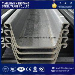 Grand stock Reay U-Shape le rideau de palplanches en acier 400x100x 10,5 mm
