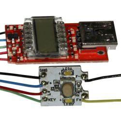 Commerce de gros d'usine Cigarette électronique EGO puce LCD LCD Carte de circuit imprimé de BPC de cigarettes