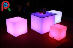 防水LEDの照明立方体の椅子