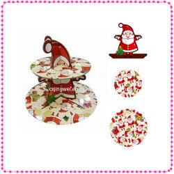 Le Père Noël Noël papier Stand Cupcake CS2-4