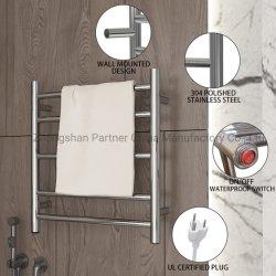 Wandmontage Aus Edelstahl 304 Handtuchwärmer Elektro Handtuchhalter Heiße Verkaufsargumente für Badtrocknung (Z6E-119-30)