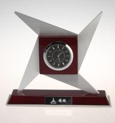 대중적인 나무로 되는 석영 시계 및 시계