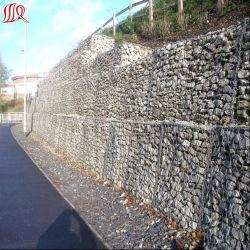 Maillage de gabions est utilisé pour la protection de la pente de la route