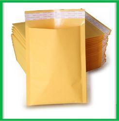 Venda quente kraft reciclado Envelopes acolchoados com globo transparente