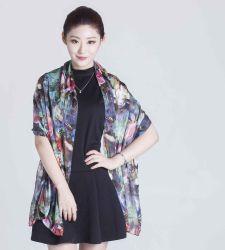 方法女性のための工場直売100%の絹のスカーフのばねそして夏