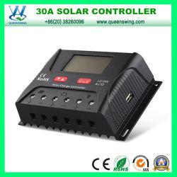 10A/20A/30A/40A/50A/60d'un contrôleur de charge solaire 12/24 V avec affichage LCD (QW-SR-HP2430A)