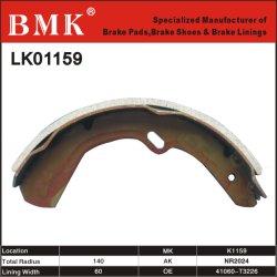 Qualidade avançados Sapata de Freio (K1159) para a Nissan