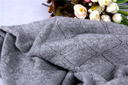 Il cachemire ha automatizzato la sciarpa lavorata a maglia dello scialle CS15081301L-Cashmere