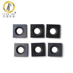 Os Cortadores de inserções de carboneto de quadrados com o raio voltado para o trabalho da madeira Espiral/Cortador Plaina helicoidal