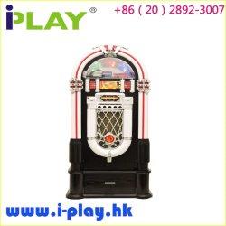 Estação de jukebox com leitor de CD