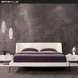 Stainess 강철 프레임을%s 가진 Foshan 공장 현대 디자인 킹사이즈 베드 홈 가구 침실 세트