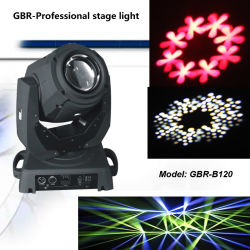 2 مصابيح أمامية متحركة بالضوء الخلفي