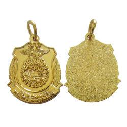 La vente directe d'usine de charme Accessoires Bijoux en métal plaqué argent 18K de l'artisanat de Collier Pendentif (charme-13)