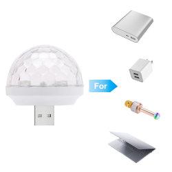 Mini-USB-Disco-Kugel für Weihnachtsjahreszeit