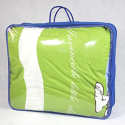 Quilt Comforter Duvet Bedding PackagingのためのNon-Woven Clear PE/PVC Wire Frame Bag