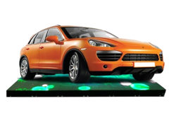 El uso de la etapa de juego a todo color P3.91 estable al aire libre SMD LED pantalla interactiva de la pista de baile