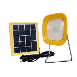 NGO の un の携帯用小型太陽ランタンの太陽テーブルの読書を渡す ランプソーラー LED ライト SF-8 、携帯電話充電器付き、用 スタディ( Study )