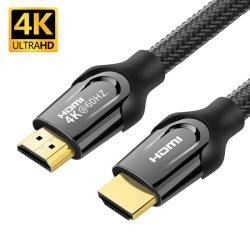 HDMI에 변환 케이블 HDMI 2.0를 가진 4K@60Hz 2160p 18gbps 3D/Ultra 고속을%s 가진 오디오 케이블