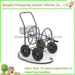 Zona residencial de grado 4-Carrete de manguera de jardín de la rueda de carro con capacidad para 250 Foot-Hose