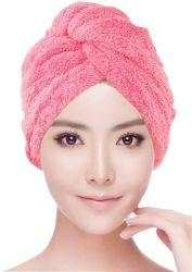 Süsser Typ Superfine Faser-Kopf-Verpackungs-Haar-trocknendes Tuch