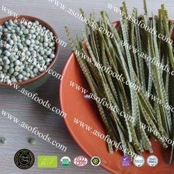 Ervilha orgânicos Fettuccine Noodle, refeição saudável, rico em fibras