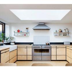 Moderna cucina in legno melaminica pensiline pensiline
