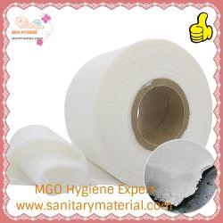Пух целлюлозы и Sap промокательная бумага без шаблона для санитарных Napkin