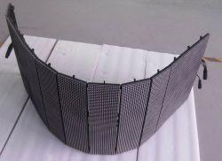 P10屋外の適用範囲が広いLEDの網のカーテン
