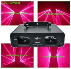2 головки, закрывается лазерный свет PRO DJ освещения