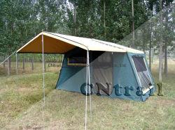 4WD voyageant à l'extérieur de la famille Camping toile imperméable Fast-Open campeur tente de remorque