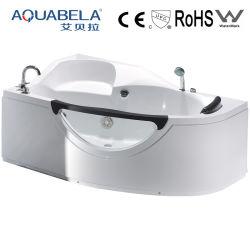 La Chine Le commerce de gros en verre Spa bain à remous baignoire de massage (JL807L/R)