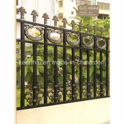 Питание с покрытием сварных декоративных алюминиевых сад ограждения (КН-AF012)