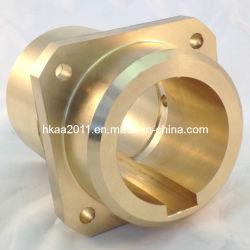 Boccola del manicotto di Pin della colonna della guida della flangia lavorata abitudine del bronzo di alluminio
