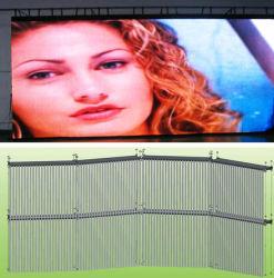 P6, P10, P12, P16 Soft rideau d'affichage vidéo (LED rideau transparent l'écran)