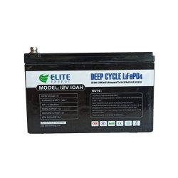 بطارية ليثيوم أيون خفيفة الوزن ذات حجم صغير من Elite بجهد 12 فولت وقدرة 10 أمبير في الساعة LION Batterie Pack LIO4 Batteria لإقفال المصابيح مصابيح المنفاض