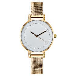 De eenvoudige Diamant van de Steen van China van het Ontwerp Dame Gift Watch