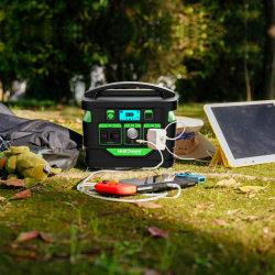 100Wh 300500500Wh 발전기 태양광 충전 뱅크 이동식 파워 스테이션
