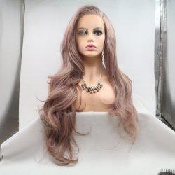 卸し売り総合的なアフリカの wigs ブロンドボブ Wig の繊維の毛 Wig