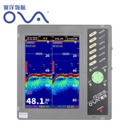 Óvulos 10 Polegadas Marine Sonar GPS localizador de peixes