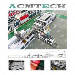 Acm ASA U-PVC vidrada Colonial Telha ondulado máquina de extrusão da placa de folhas