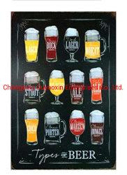 Los signos de metal de la cerveza de signos de estaño carteles para pub restaurante Club Decoración