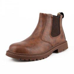 2021 Newstyle Anti impermeável de aço do esmagamento Toe homens trabalham borracha botas de segurança