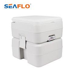 Het Kamperen van Seaflo 20L 10L de Openlucht Plastic Mobiele Auto van de Reis 20L 5.3 van de Draagbare Gallons Zetel van het Toilet met Vloed