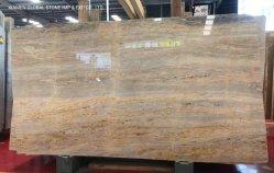 아름다운 화강암 / Quartzite / Marble Slabs Gold / Blue / Yellow / White Peacock 베이지 Onyx - 인테리어 플로어 / 벽 타일