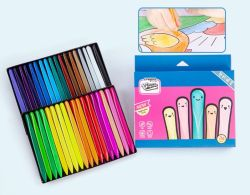 Crayon Colorfull Triangel en plastique pour Stationery Supply
