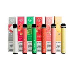 Múltiples sabores OEM 800 inhalaciones dispositivo desechable Vape Puff Plus con la impresión de logotipo Pod Vape