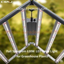 Nuevo diseño de iluminación LED de crecer en todo el espectro de instrumentos (630W 2.7UMOL/J) para sustituir el Fluence Spydr